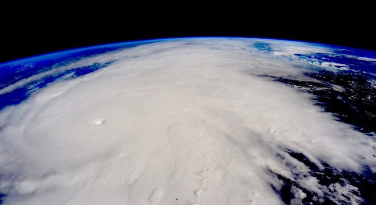 Hurricane Patricia from the ISS. © Scott Kelly (Twitter: @StationCDRKelly)