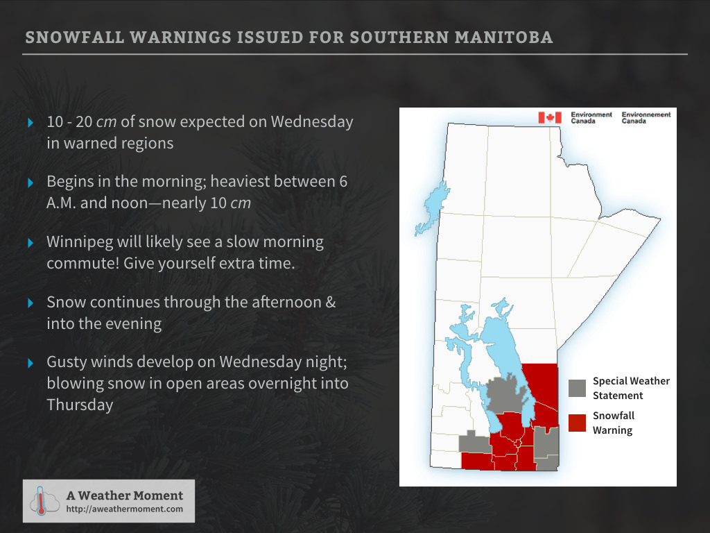 Snowfall Warning Highlights